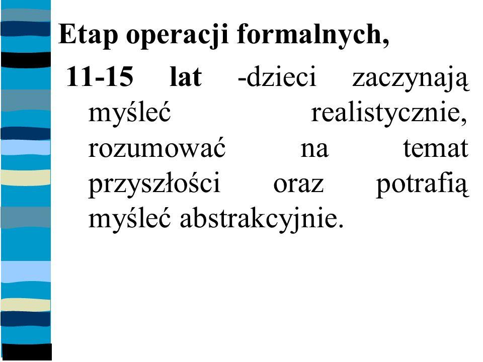 Etap operacji formalnych,