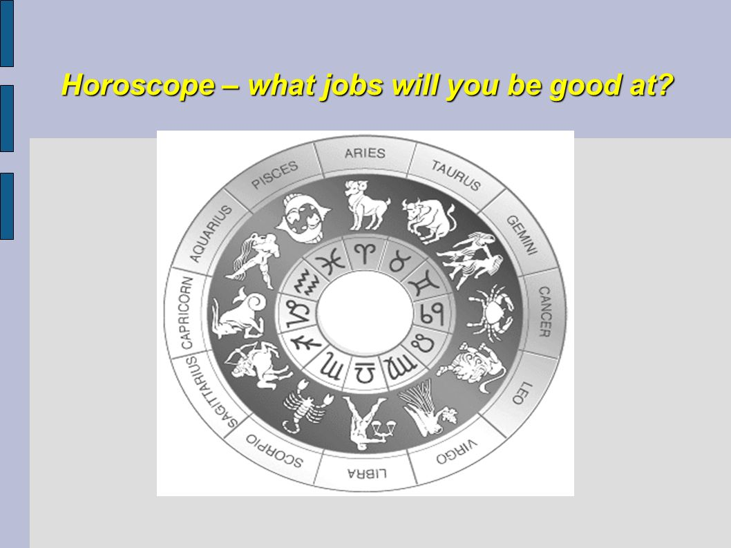 Horoscope – what jobs will you be good at
