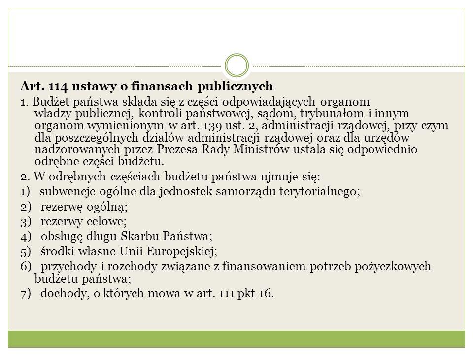 Art. 114 ustawy o finansach publicznych