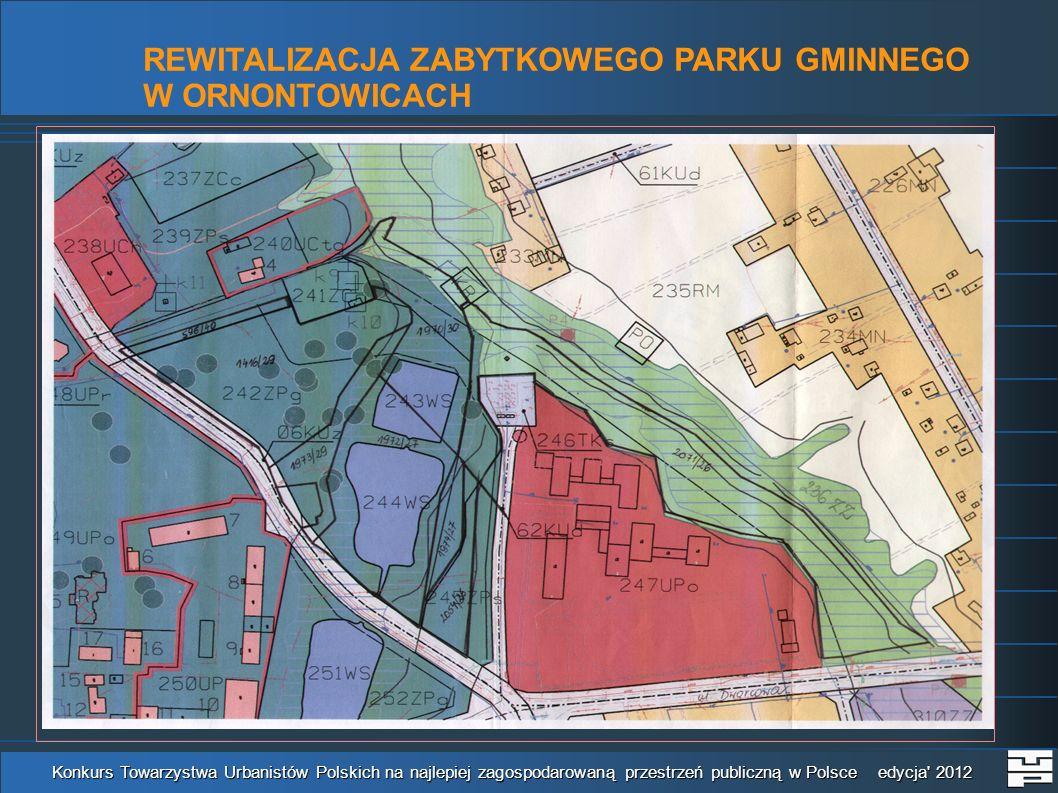 Wyrys z miejscowego planu zagospodarowania przestrzennego