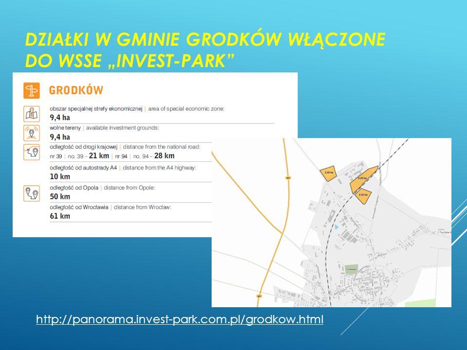 """Działki w gminie Grodków włączone do WSSE """"Invest-park"""