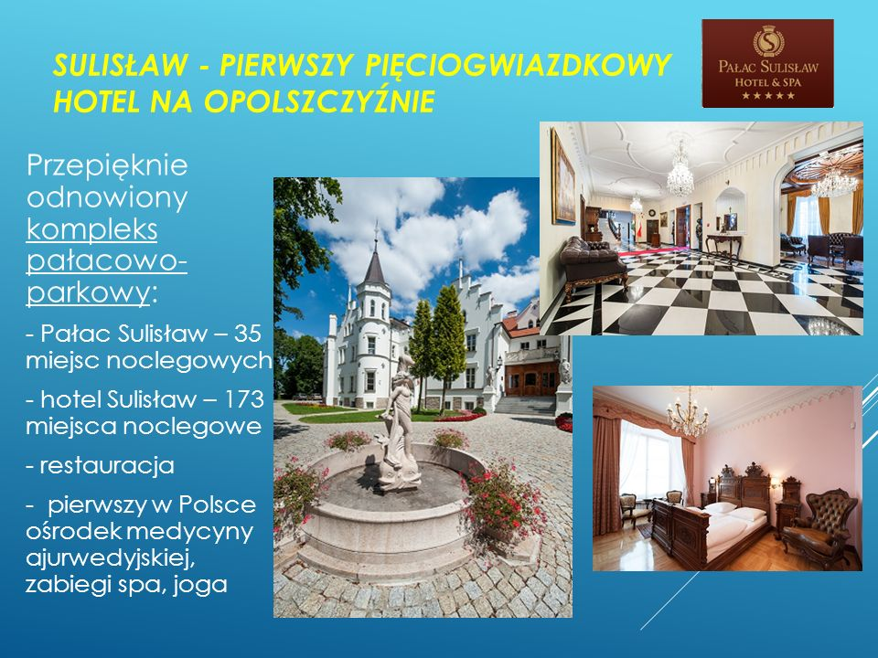 Sulisław - pierwszy pięciogwiazdkowy hotel na Opolszczyźnie