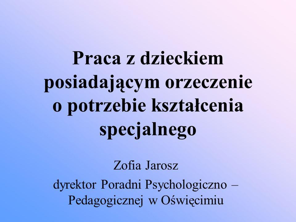 dyrektor Poradni Psychologiczno – Pedagogicznej w Oświęcimiu