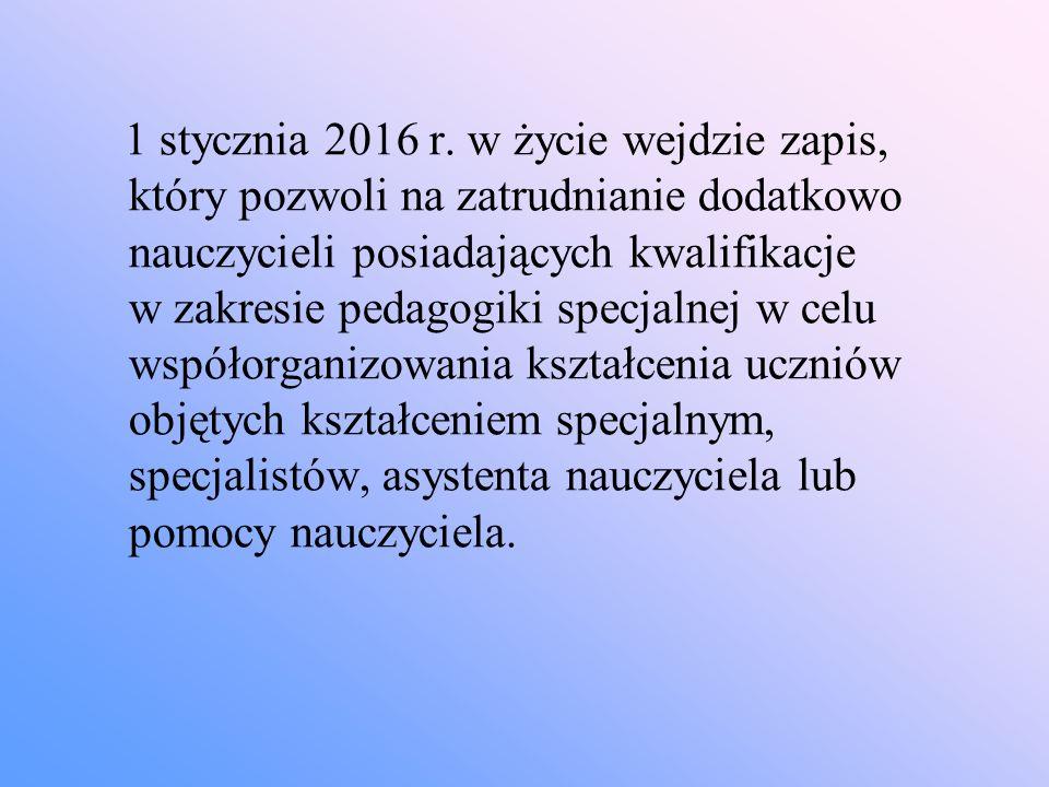 1 stycznia 2016 r.