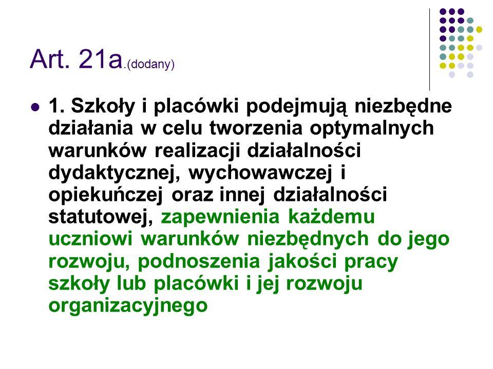 Art. 21a.(dodany)