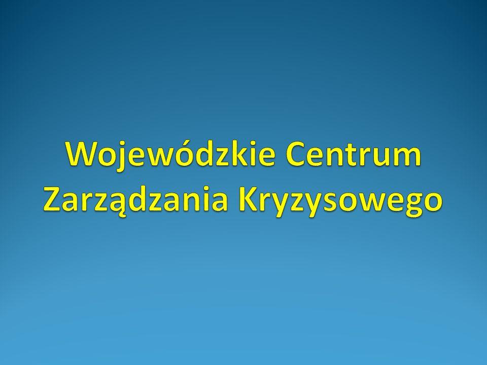 Wojewódzkie Centrum Zarządzania Kryzysowego