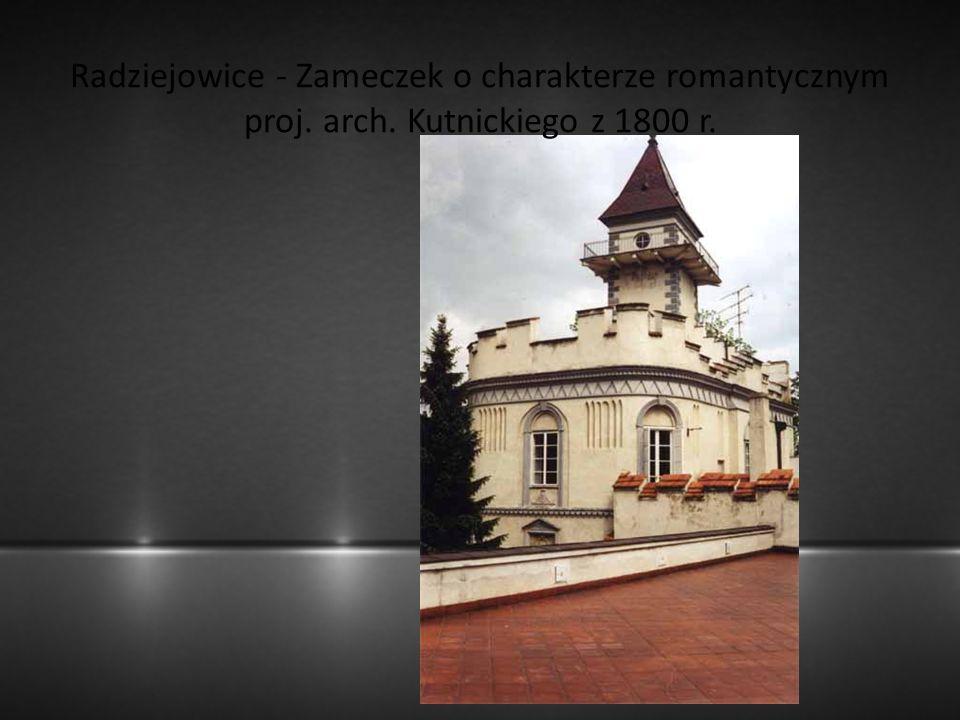 Radziejowice - Zameczek o charakterze romantycznym proj. arch