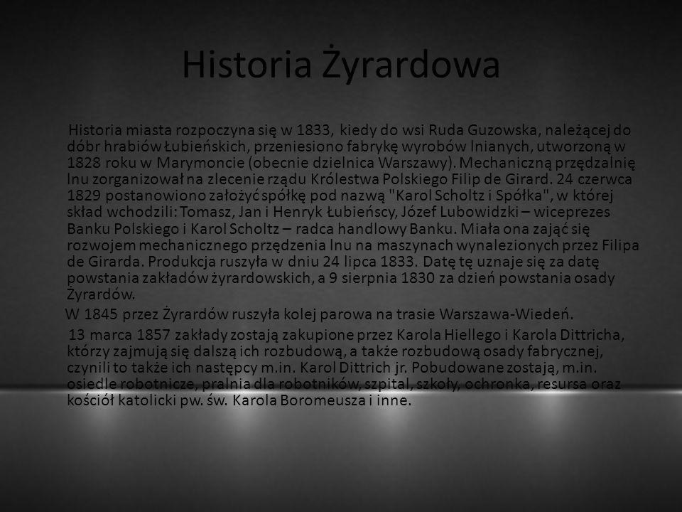 Historia Żyrardowa