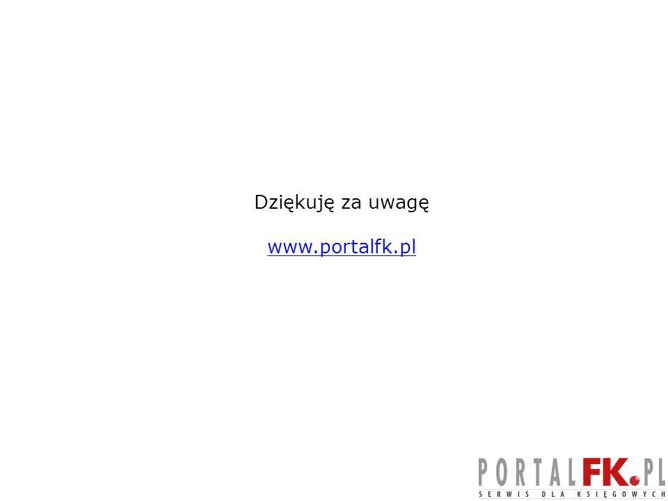 Dziękuję za uwagę www.portalfk.pl 53