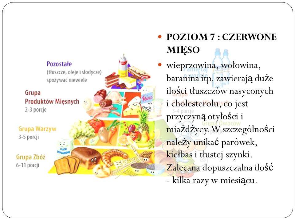 POZIOM 7 : CZERWONE MIĘSO
