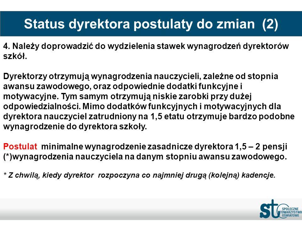 Status dyrektora postulaty do zmian (2)
