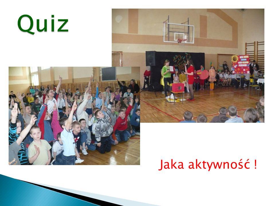 Quiz Jaka aktywność !