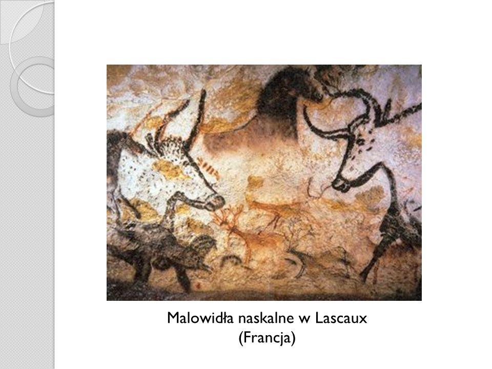 Malowidła naskalne w Lascaux (Francja)
