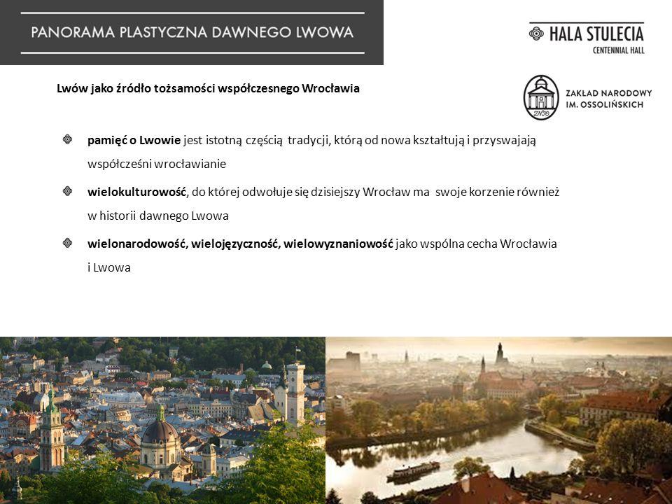 Lwów jako źródło tożsamości współczesnego Wrocławia