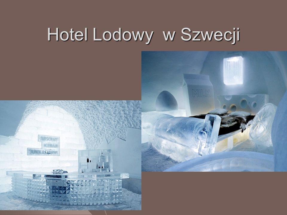 Hotel Lodowy w Szwecji