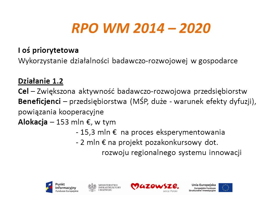 RPO WM 2014 – 2020