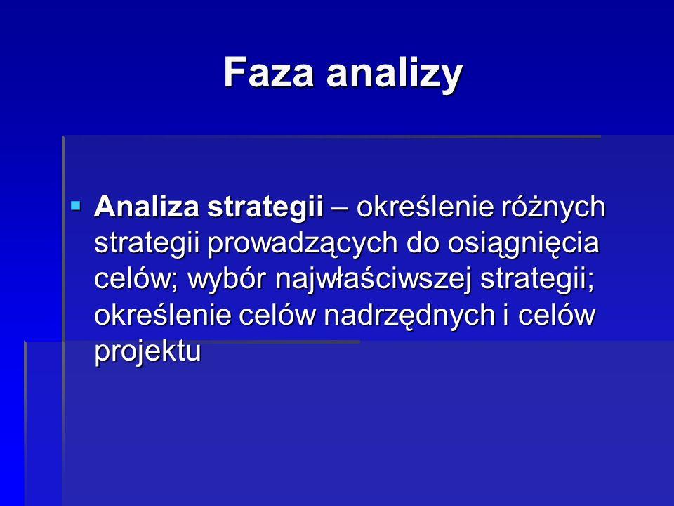 Faza analizy