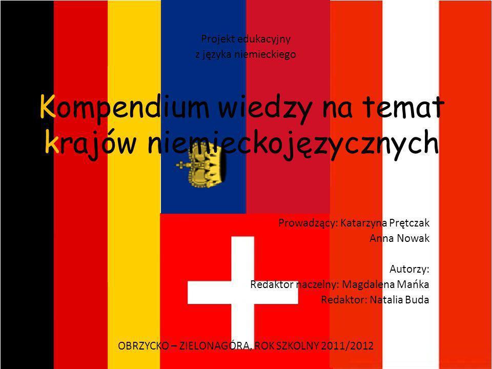 Kompendium wiedzy na temat krajów niemieckojęzycznych