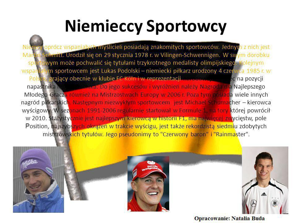 Niemieccy Sportowcy