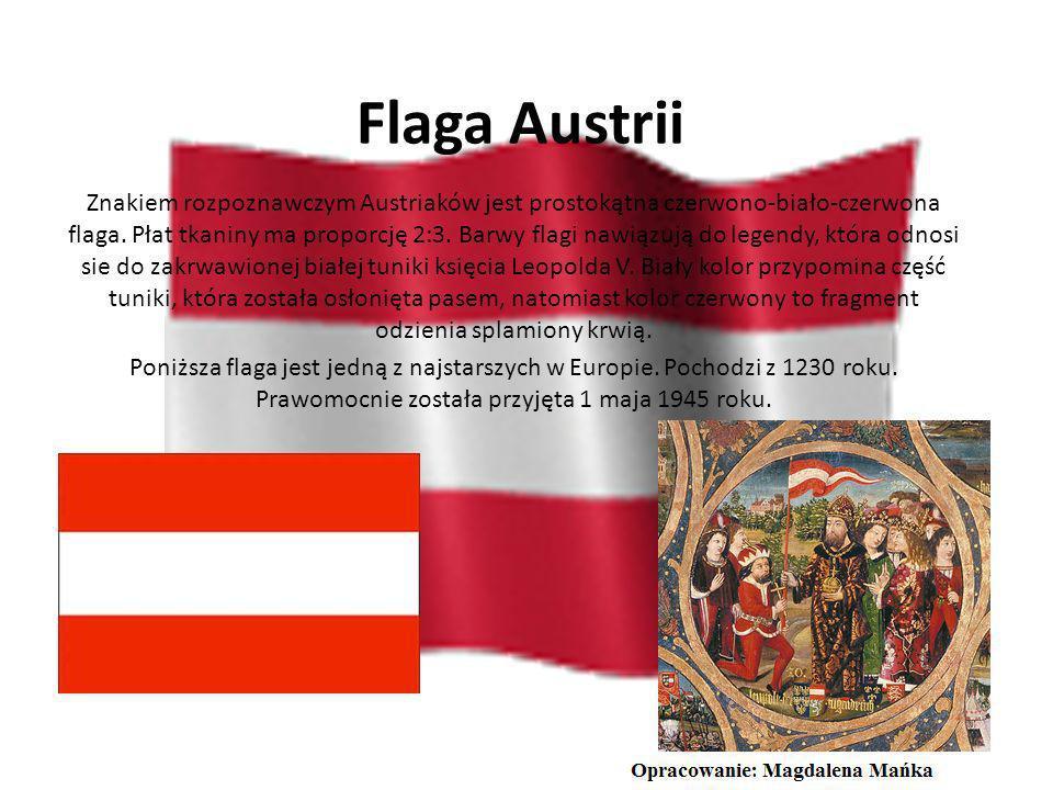 Flaga Austrii
