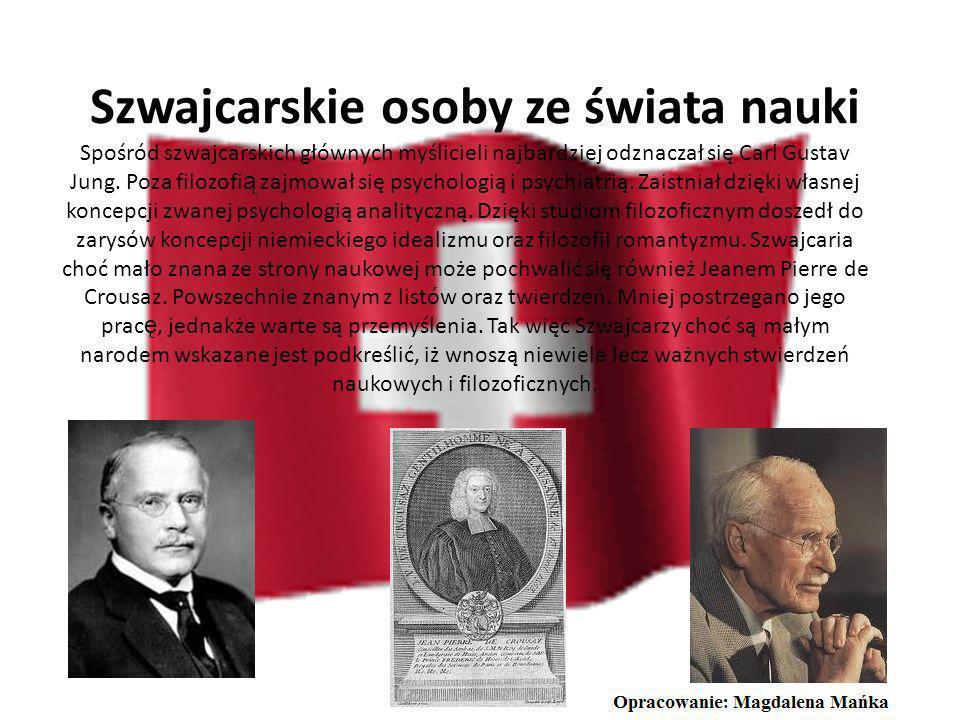 Szwajcarskie osoby ze świata nauki
