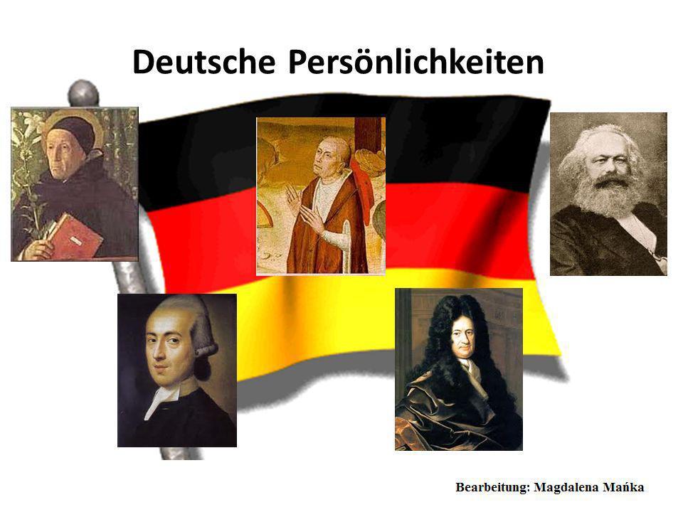 Deutsche Persönlichkeiten