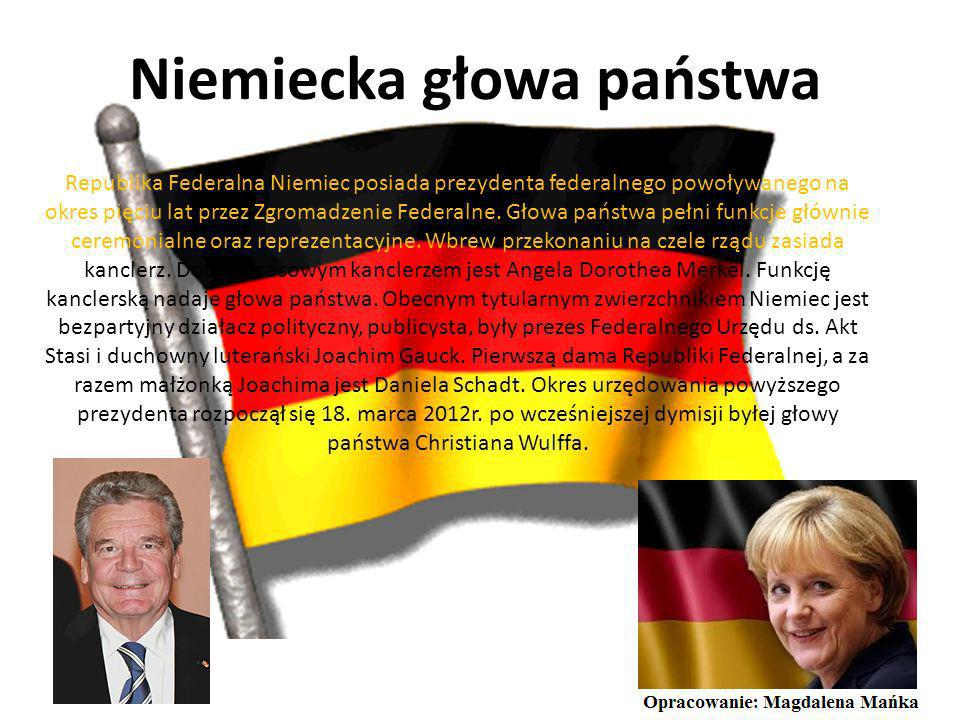 Niemiecka głowa państwa