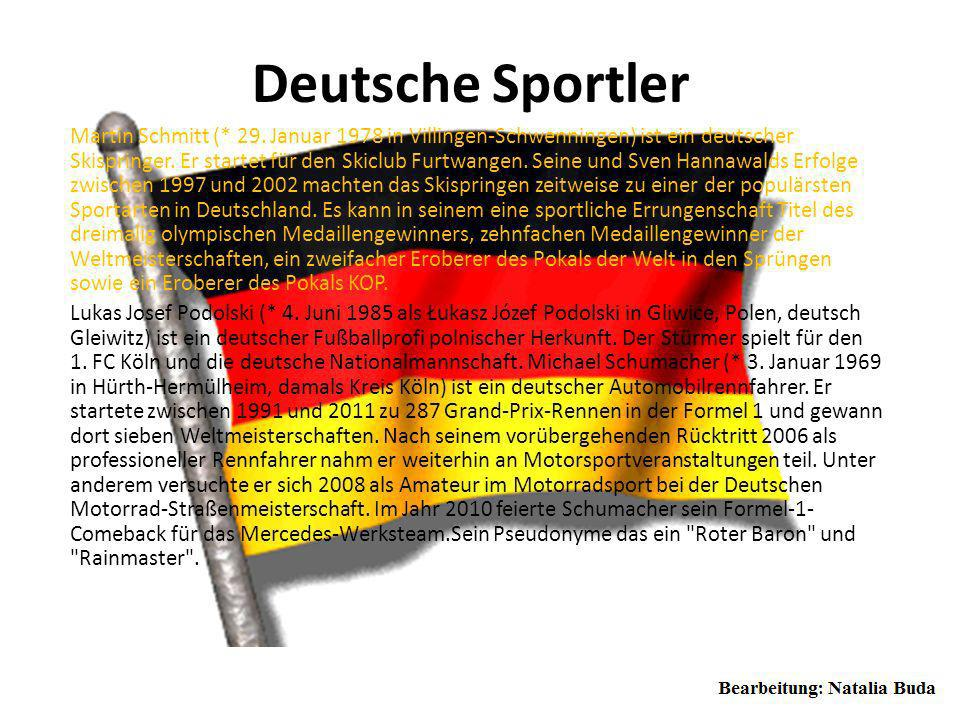 Deutsche Sportler