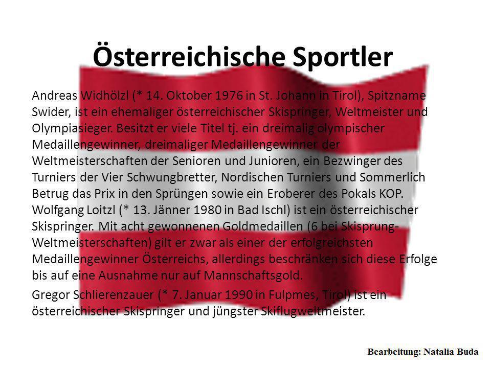 Österreichische Sportler