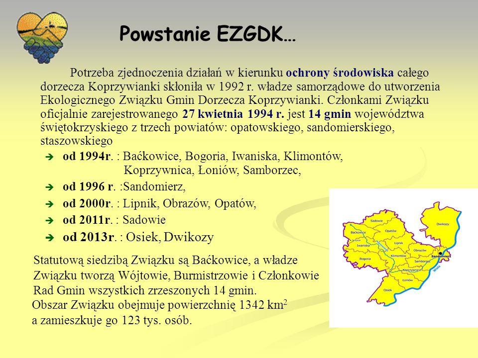 Powstanie EZGDK… od 2013r. : Osiek, Dwikozy