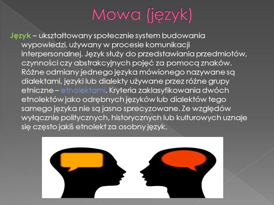 Mowa (język)
