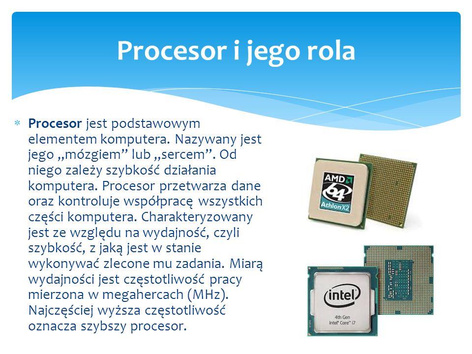 Procesor i jego rola