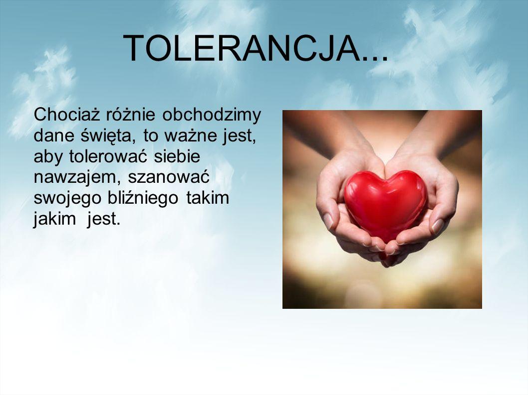 TOLERANCJA...