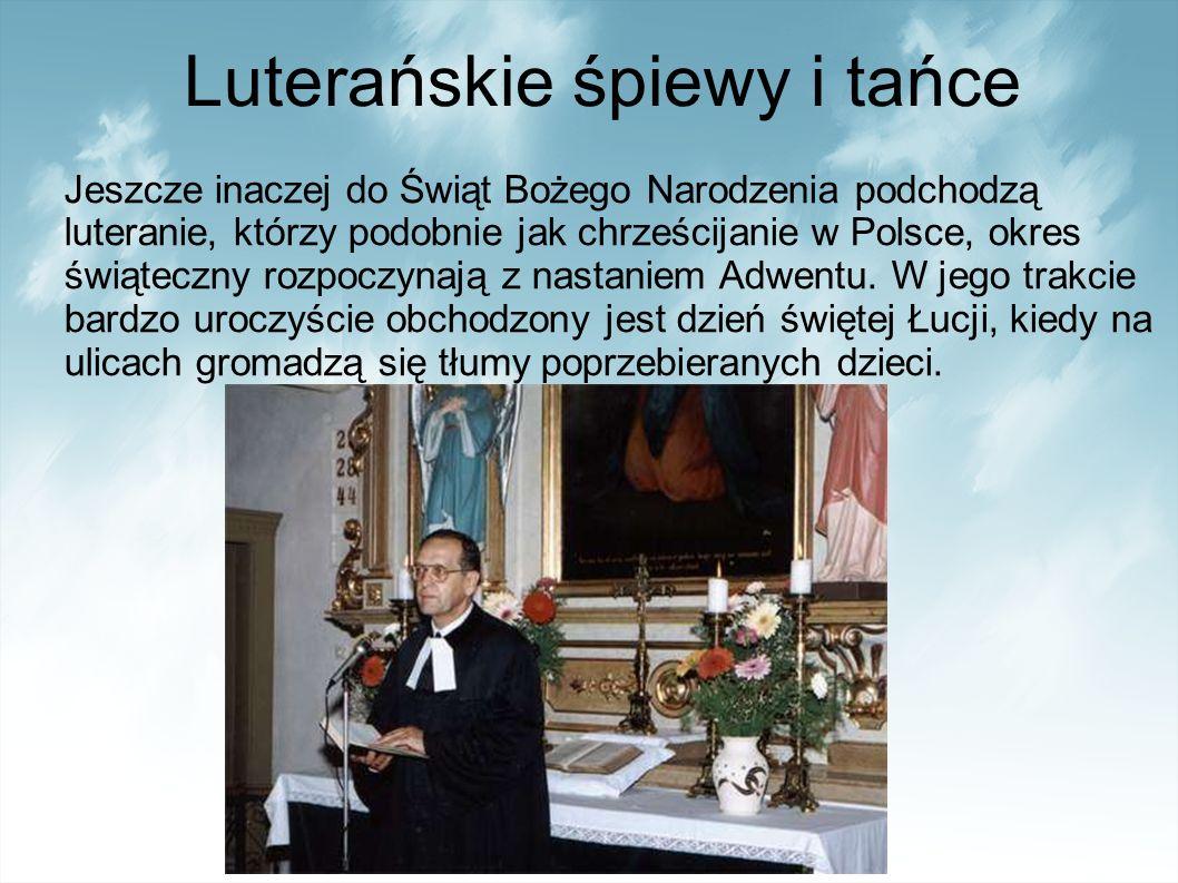 Luterańskie śpiewy i tańce