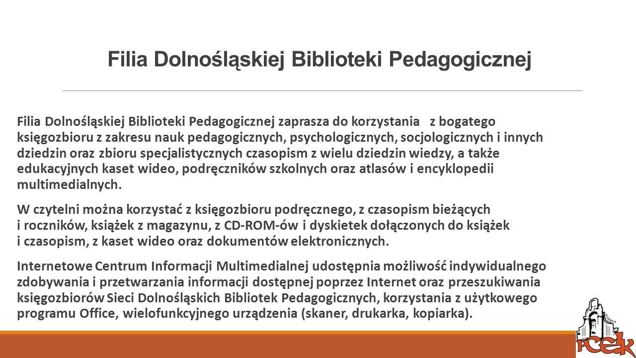 Filia Dolnośląskiej Biblioteki Pedagogicznej