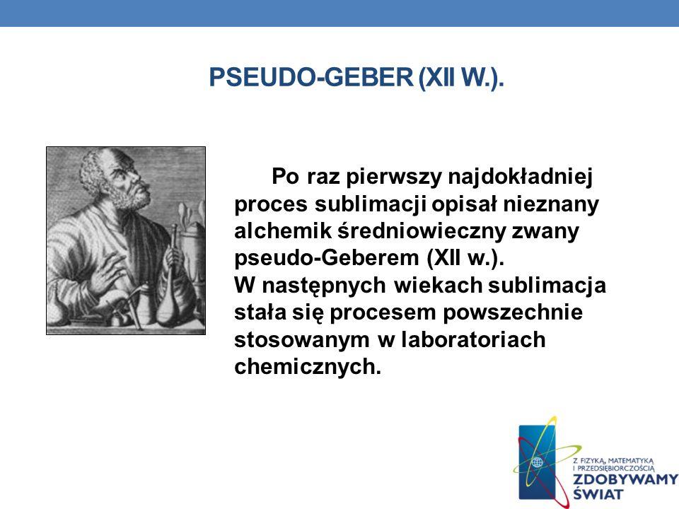pseudo-Geber (XII w.).