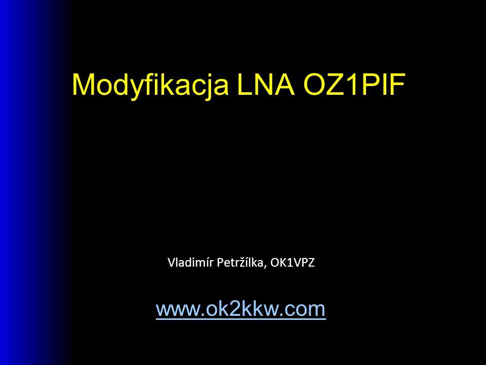 Vladimír Petržílka, OK1VPZ www.ok2kkw.com