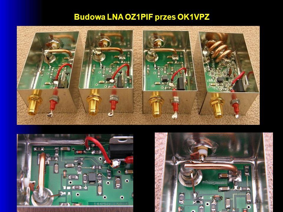 Budowa LNA OZ1PIF przes OK1VPZ