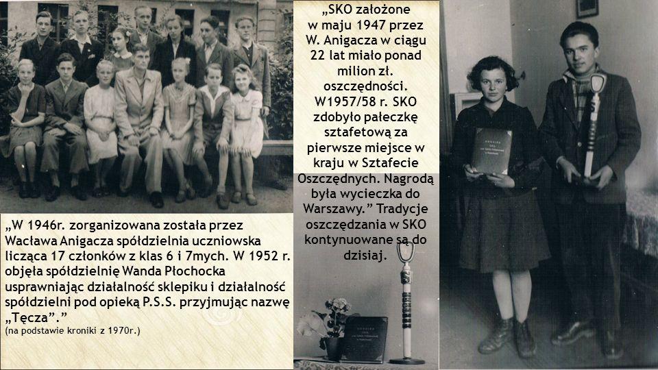 """""""SKO założone w maju 1947 przez"""
