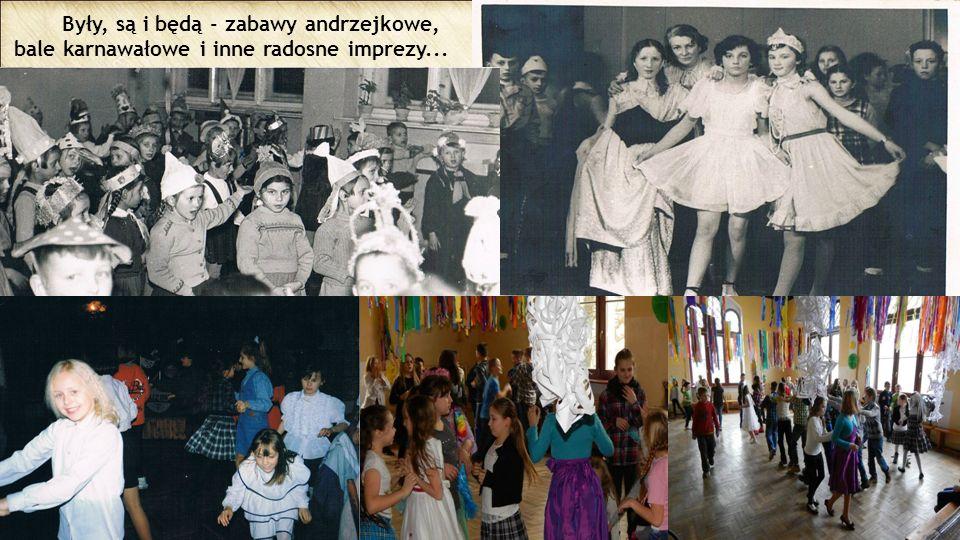 Były, są i będą - zabawy andrzejkowe, bale karnawałowe i inne radosne imprezy...