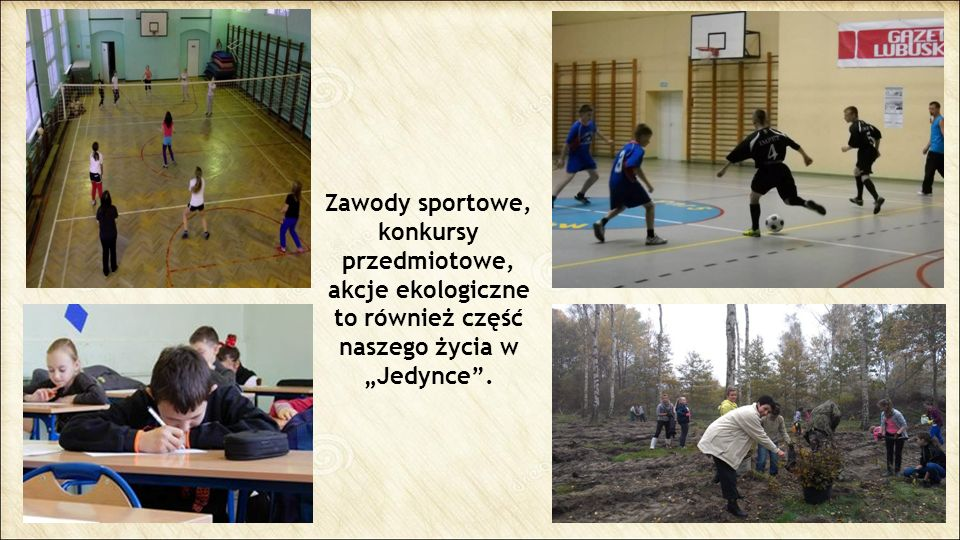 """Zawody sportowe, konkursy przedmiotowe, akcje ekologiczne to również część naszego życia w """"Jedynce ."""