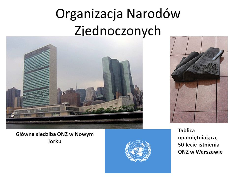 Główna siedziba ONZ w Nowym Jorku