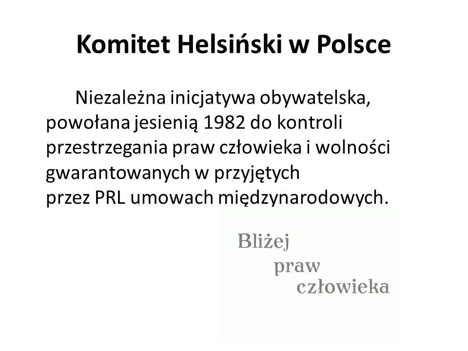 Komitet Helsiński w Polsce