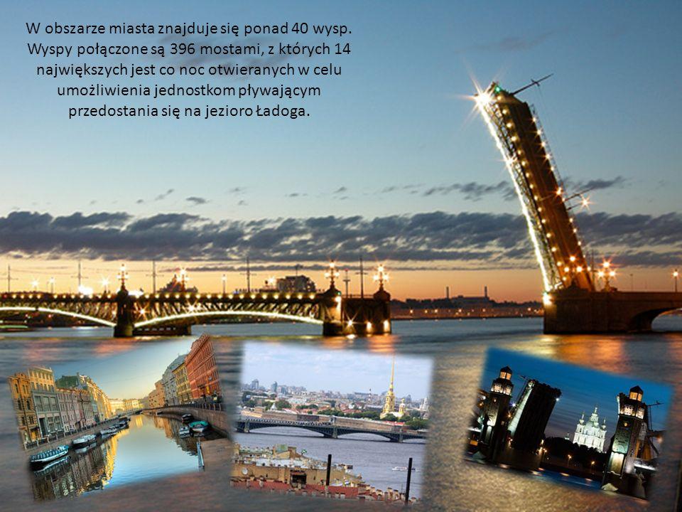 W obszarze miasta znajduje się ponad 40 wysp