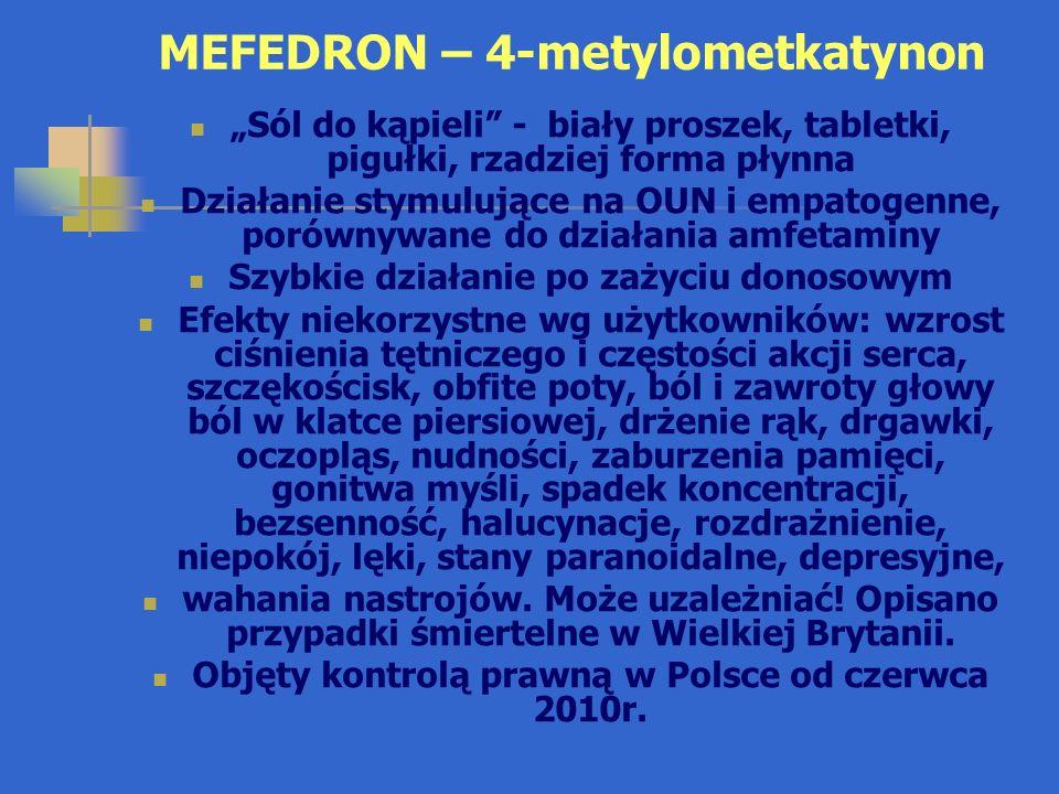 MEFEDRON – 4-metylometkatynon