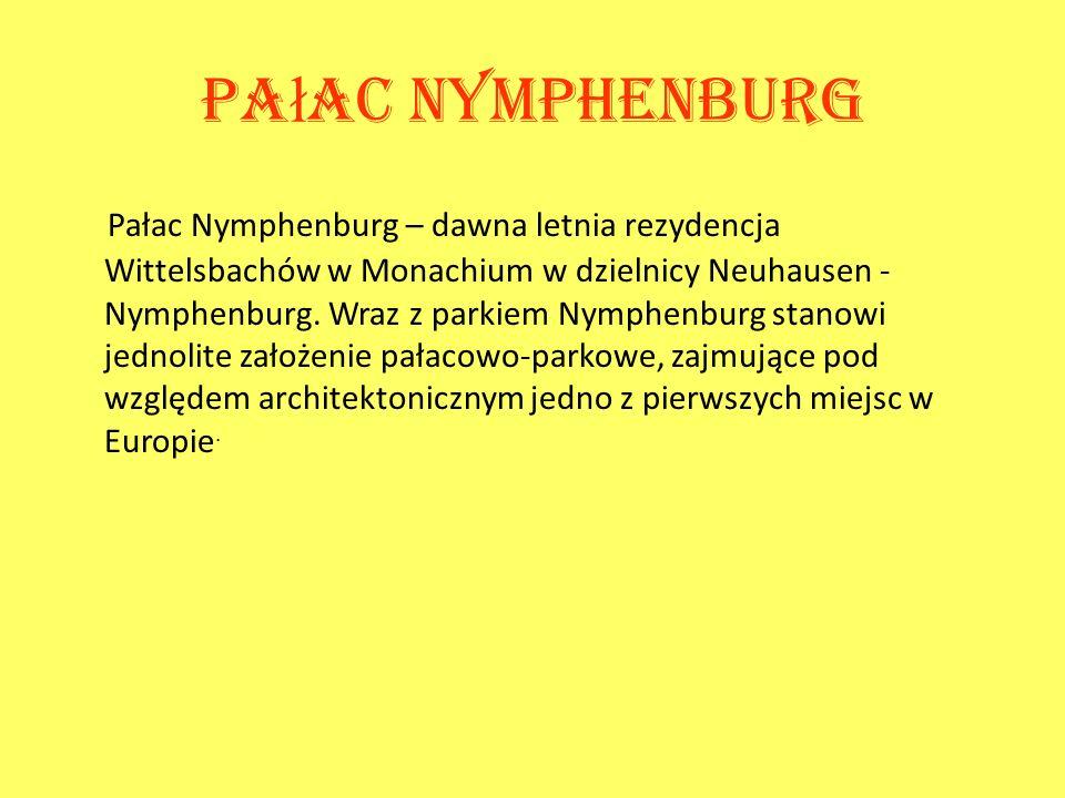 Pałac Nymphenburg