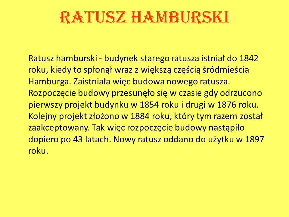 Ratusz hamburski