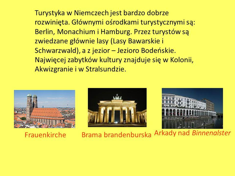 Turystyka w Niemczech jest bardzo dobrze rozwinięta
