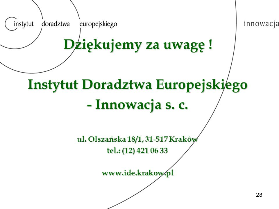 Instytut Doradztwa Europejskiego