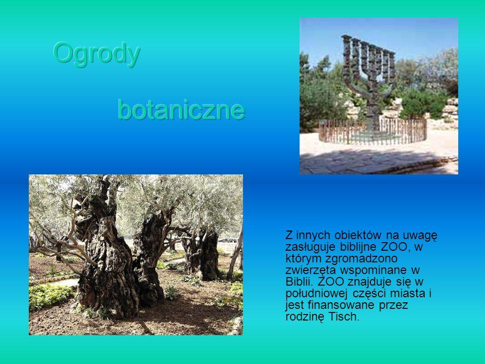 Ogrody botaniczne.